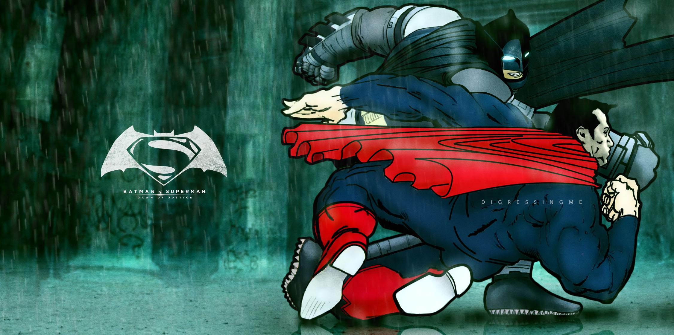 The dawn of justice batman v superman